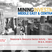Mining Investment Middle East & Central Asia
