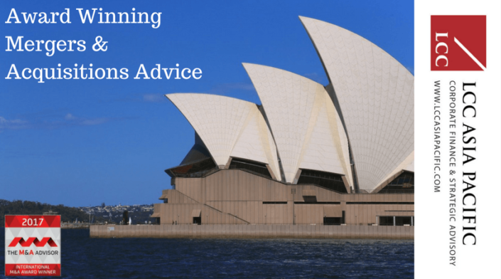 LCC Asia Pacific Mergers & Acquisitions Advice