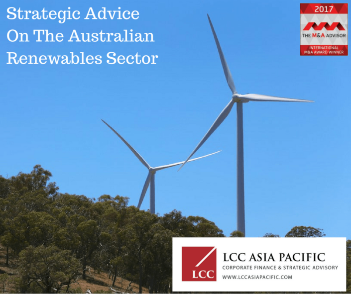 LCC Asia Pacific Renewable Sector Advice