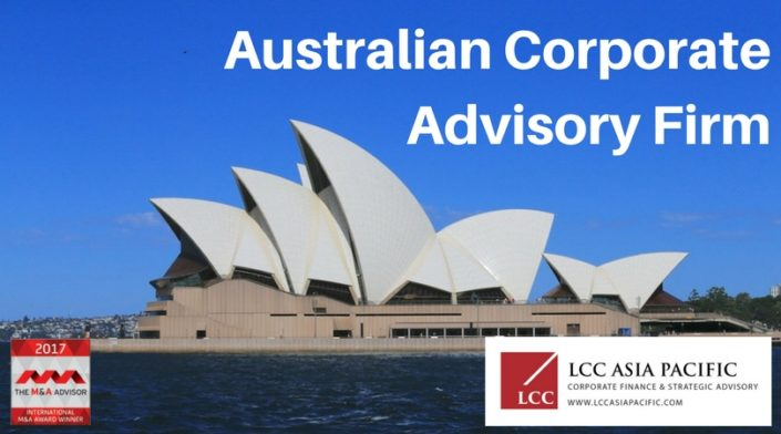 australian corporate advisory firms