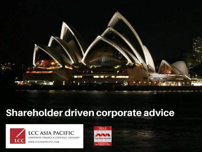 corporate advisory firms australia