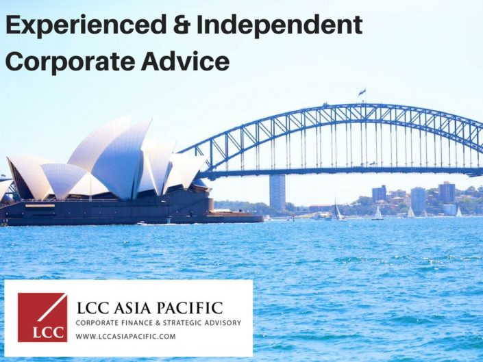 corporate advisory firms sydney australia